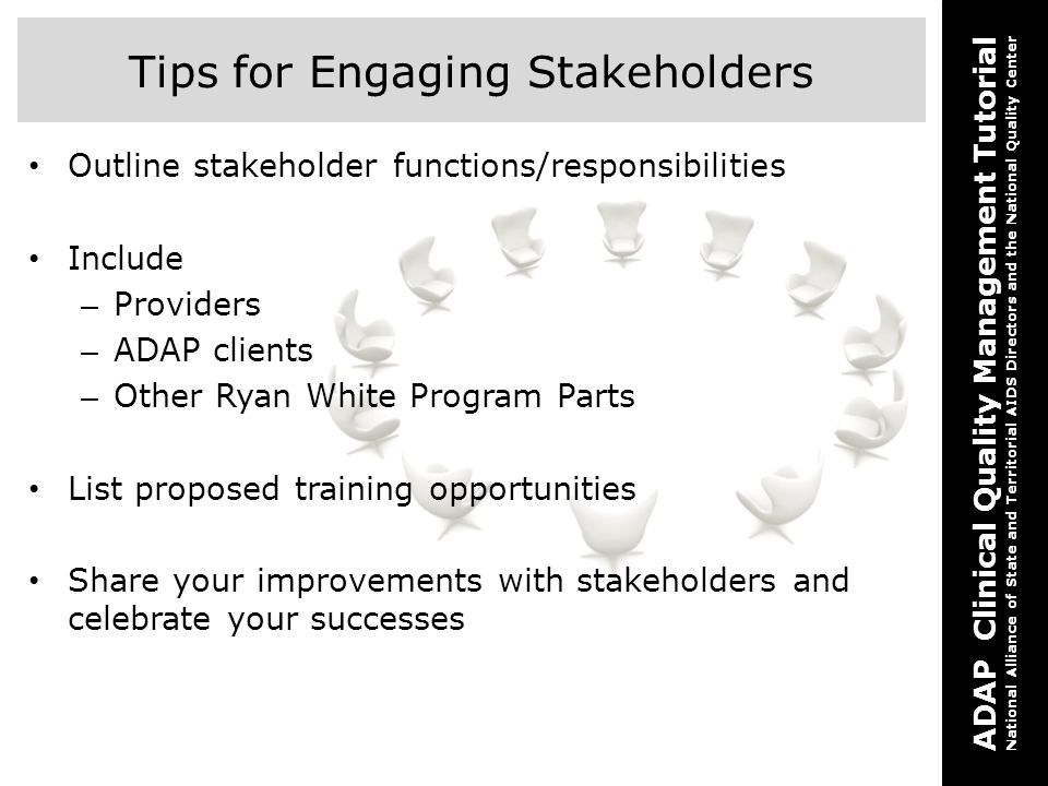 Tips for Engaging Stakeholders