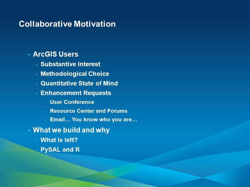 Collaborative Motivation