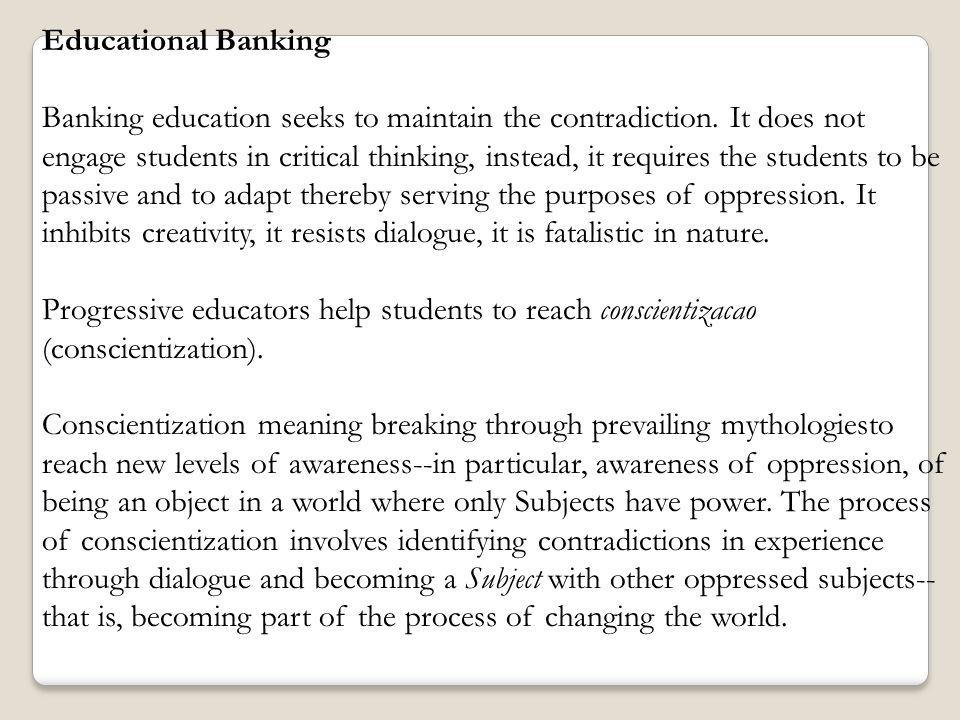 Educational Banking