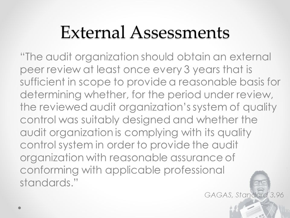 External Assessments