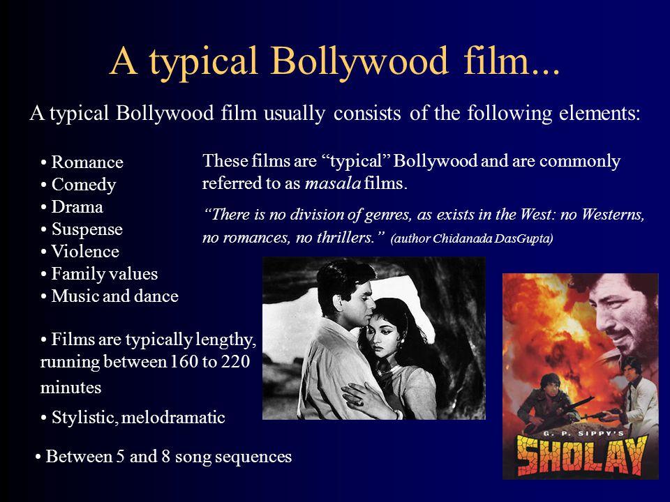 A typical Bollywood film...