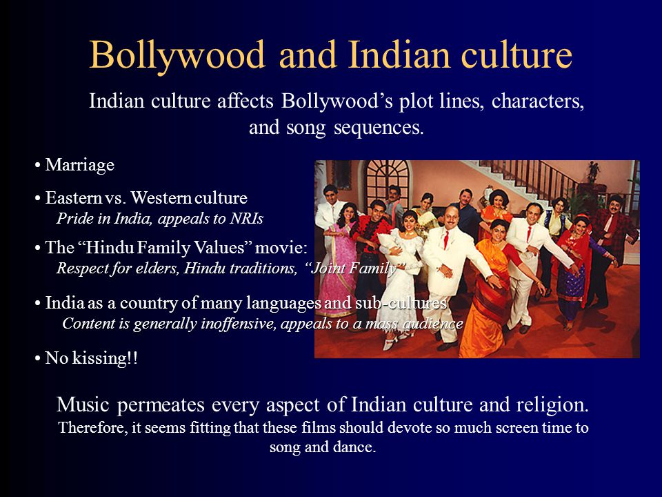 Bollywood and Indian culture
