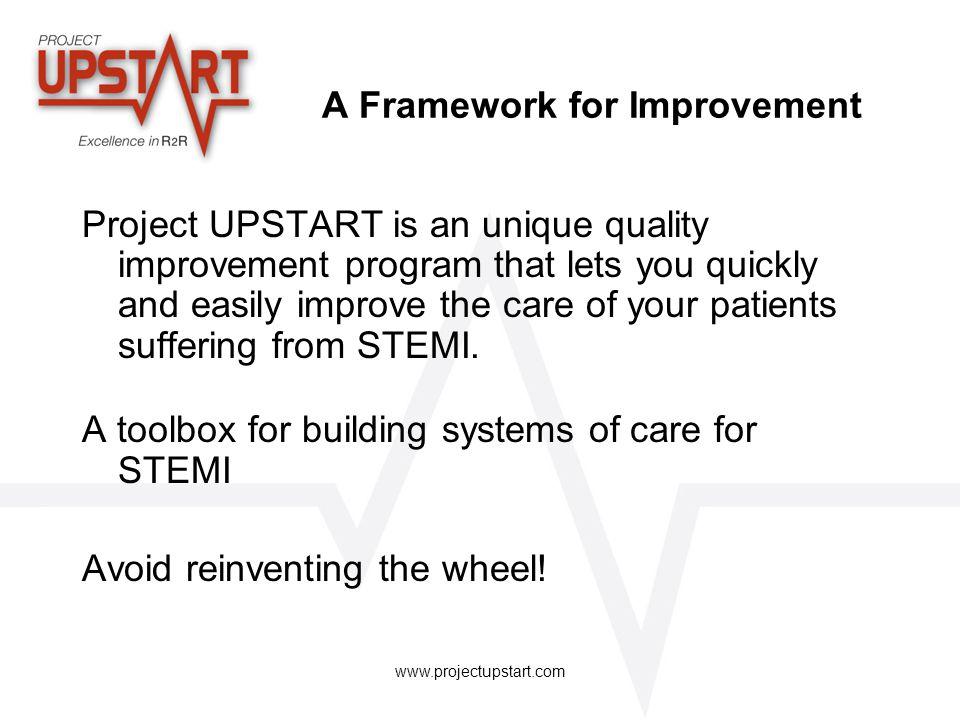 A Framework for Improvement