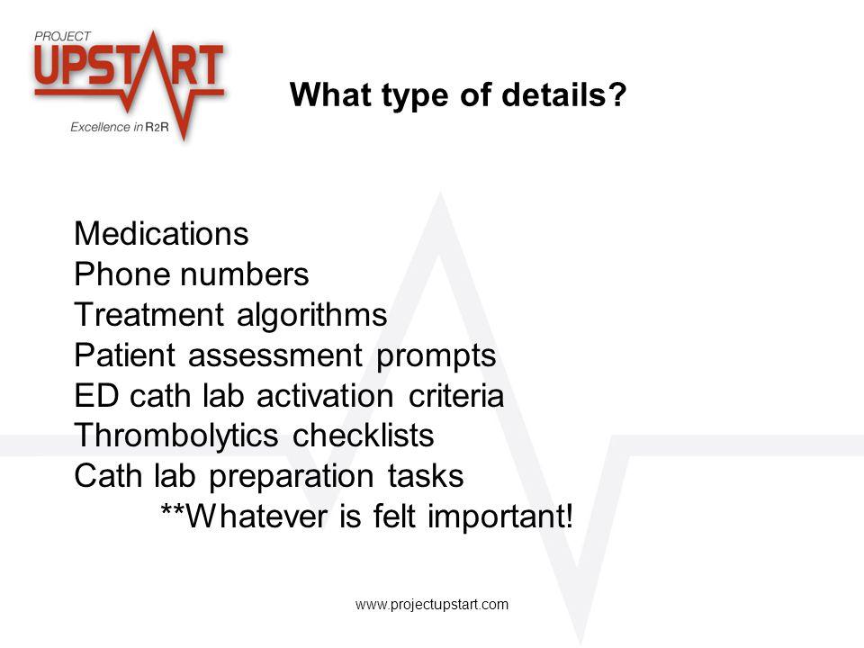 Patient assessment prompts ED cath lab activation criteria