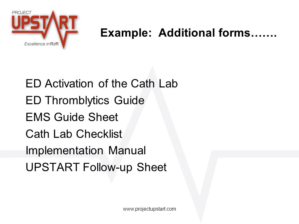 Example: Additional forms…….