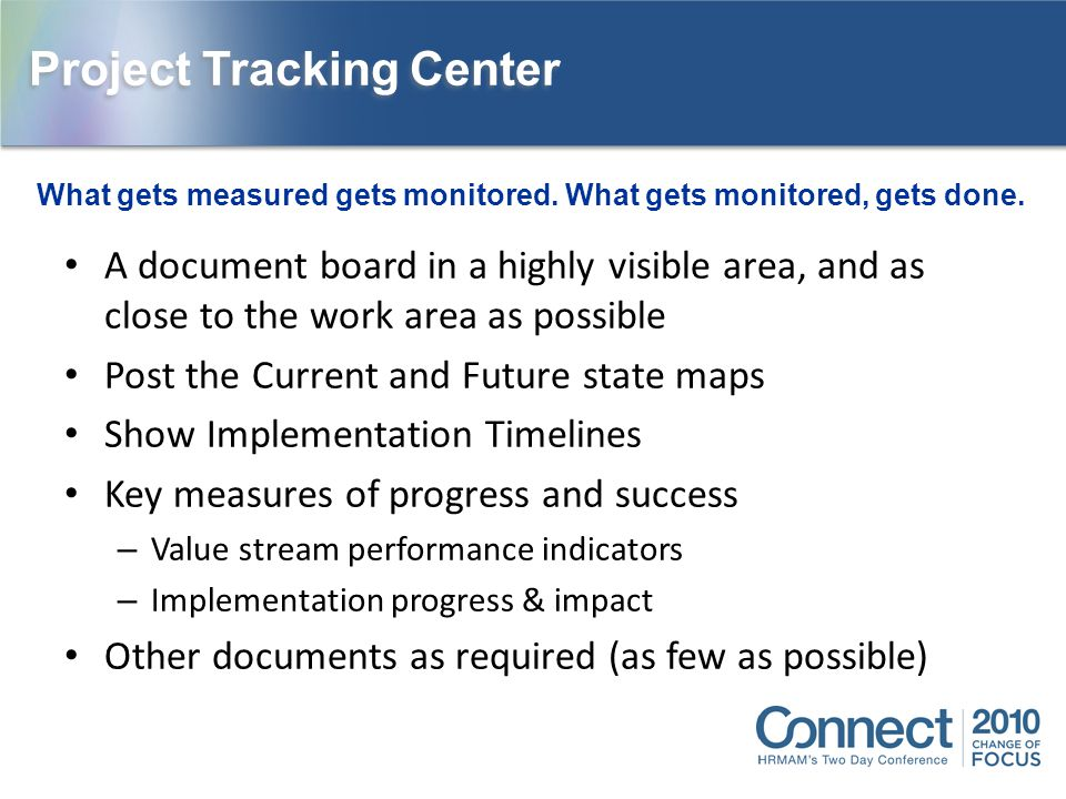 Project Tracking Center