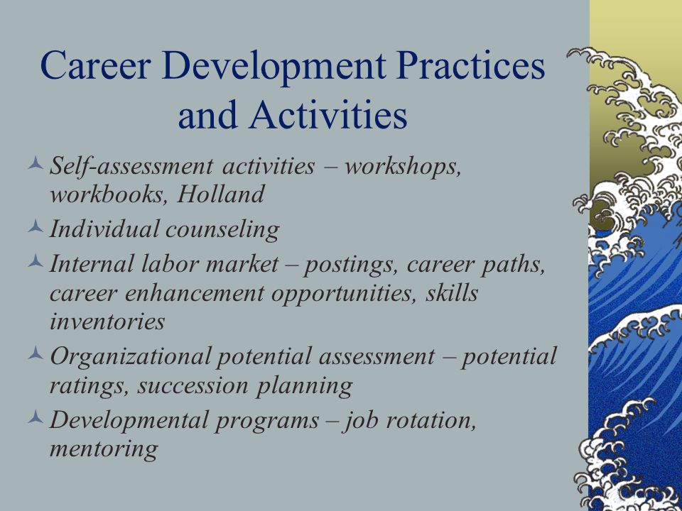 Career Development Practices and Activities
