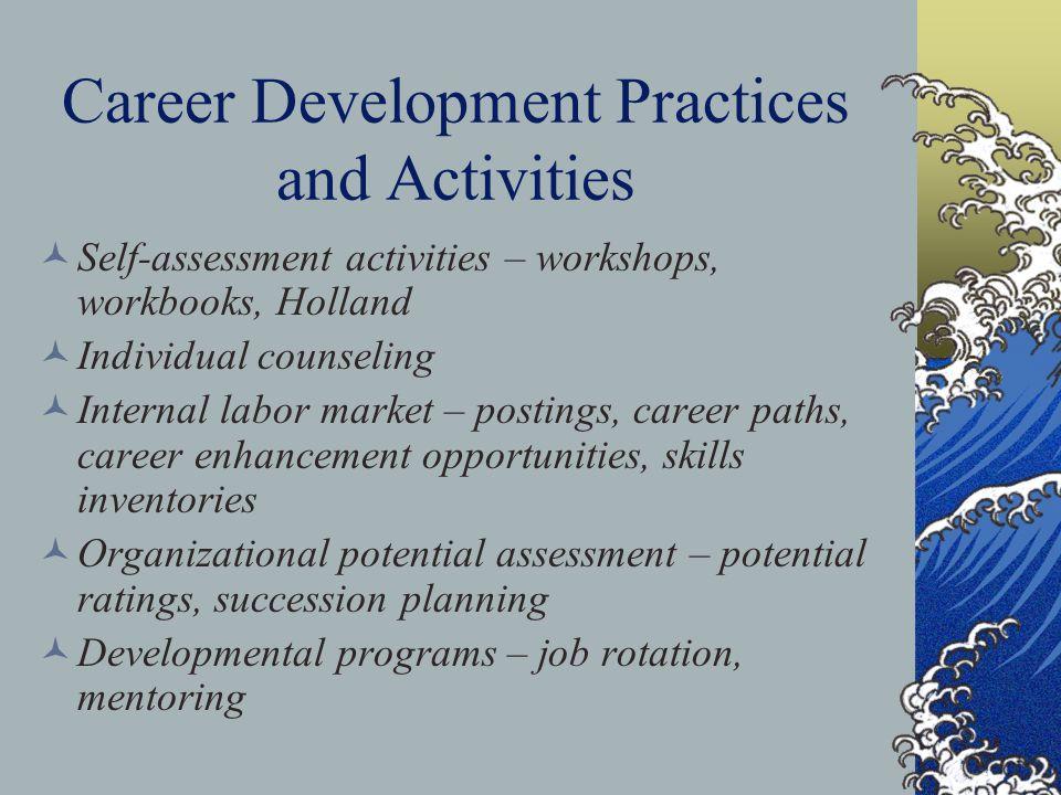 Career Development Practices and Activities
