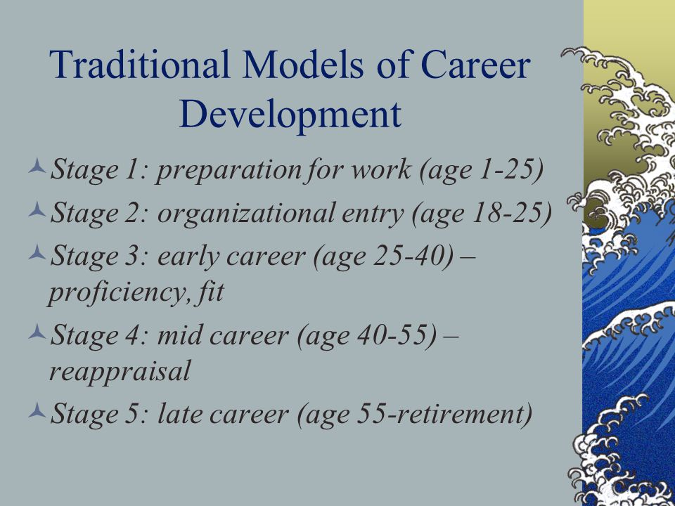 Traditional Models of Career Development