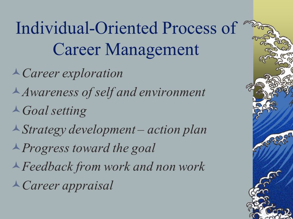 Individual-Oriented Process of Career Management