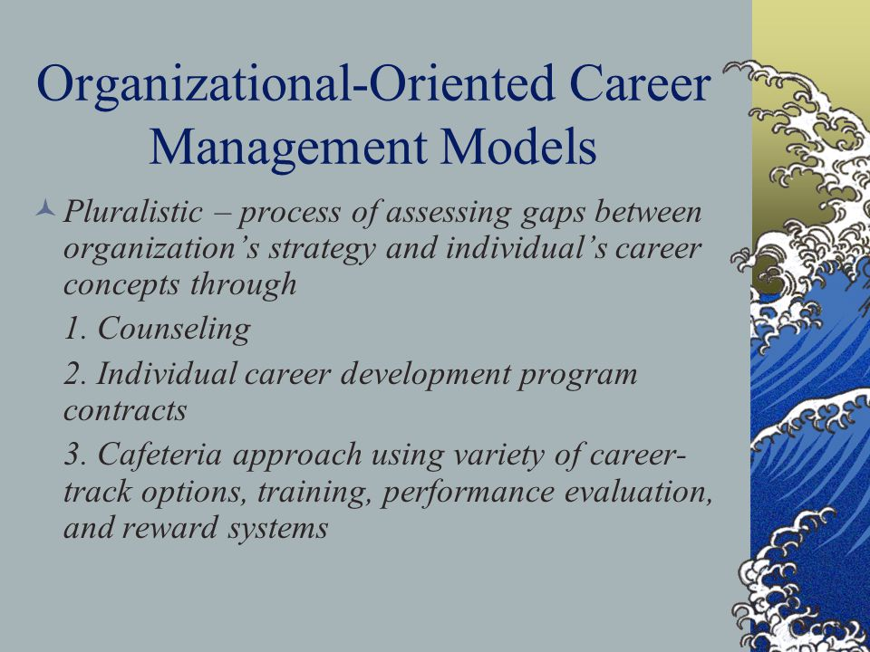 Organizational-Oriented Career Management Models