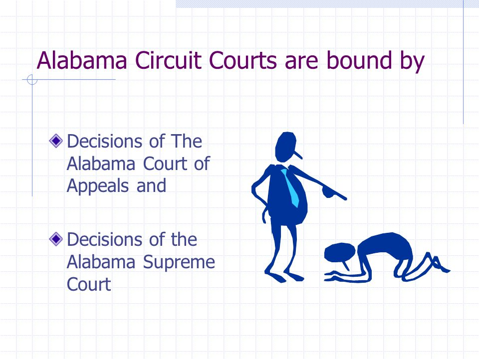 Alabama Circuit Courts are bound by