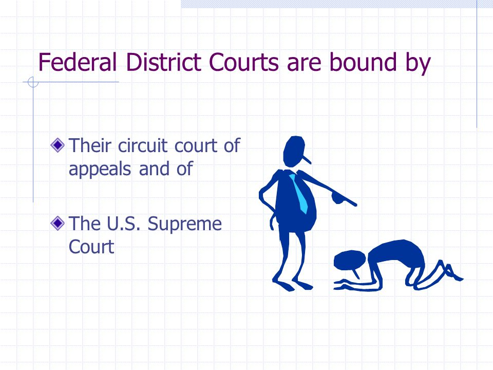 Federal District Courts are bound by