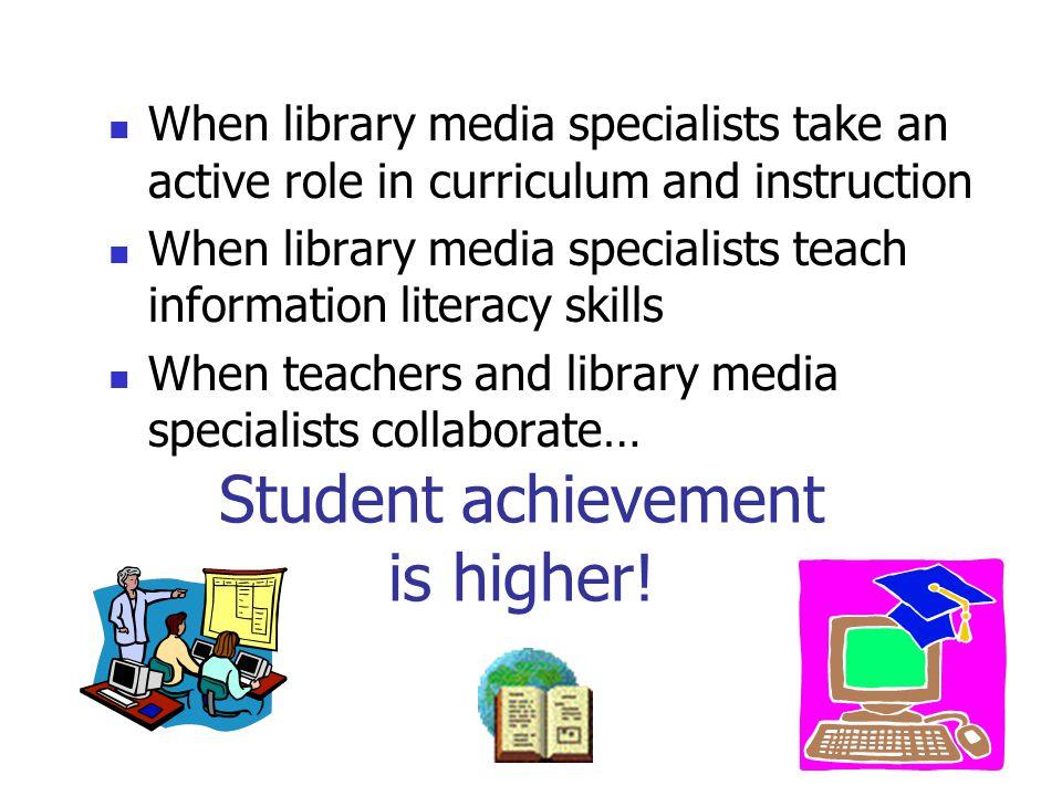 Student achievement is higher!