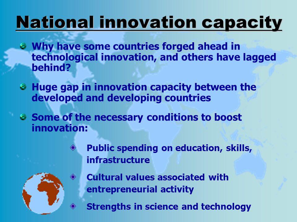 National innovation capacity