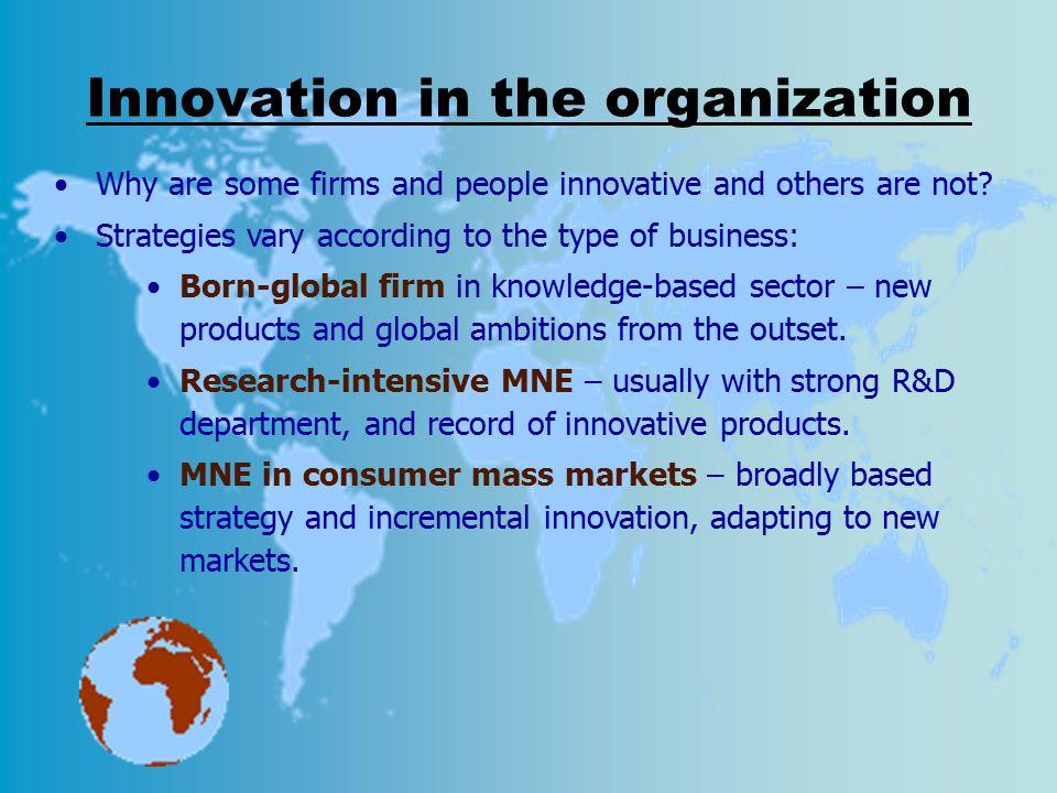 Innovation in the organization