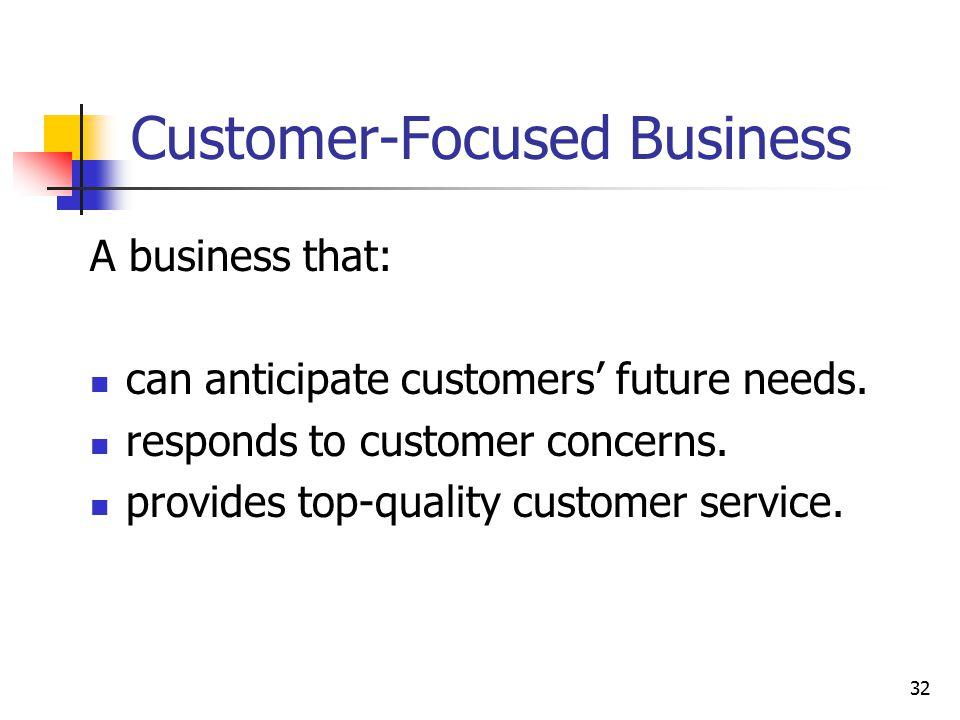 Customer-Focused Business