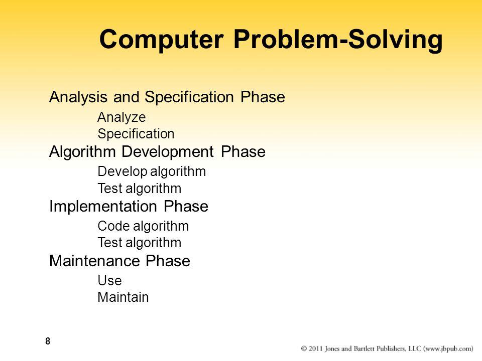 Computer Problem-Solving