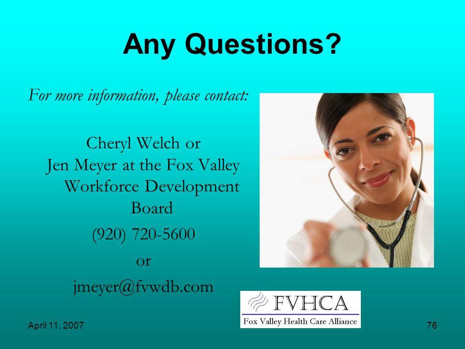 Jen Meyer at the Fox Valley Workforce Development Board