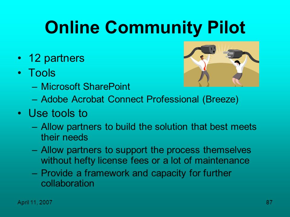 Online Community Pilot