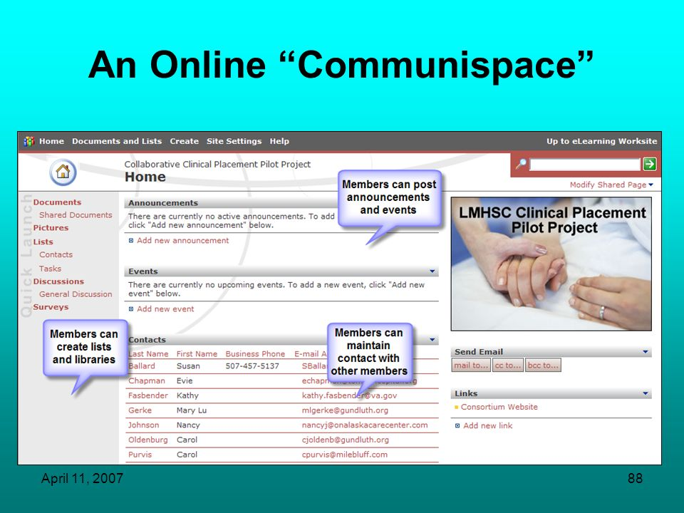 An Online Communispace