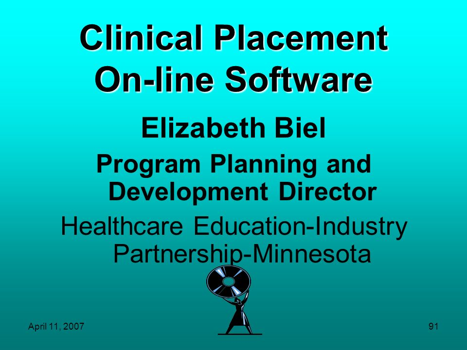 Clinical Placement On-line Software