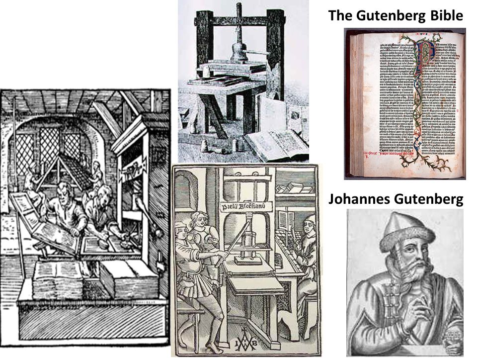 The Gutenberg Bible Johannes Gutenberg