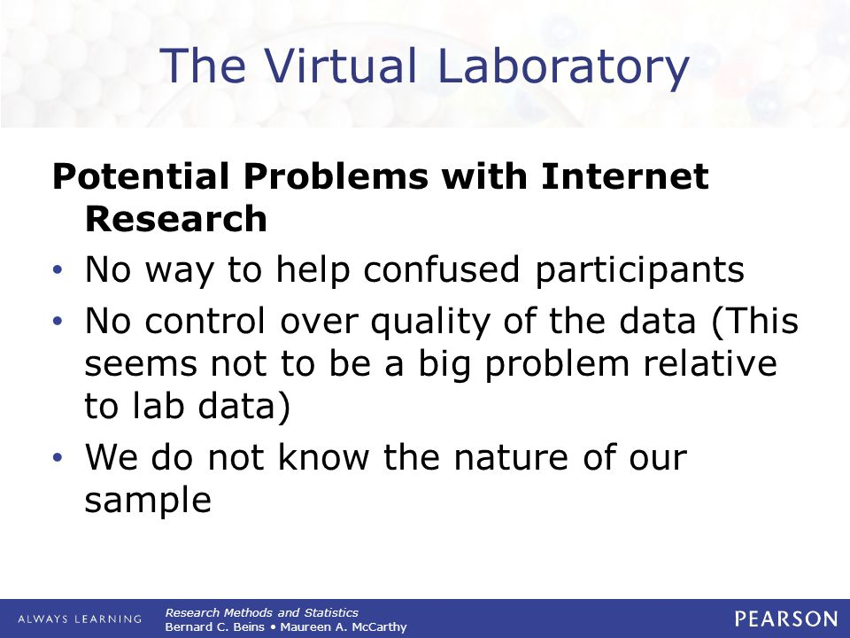The Virtual Laboratory