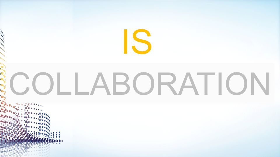 IS R COLLABORATION ÉVOLUTION