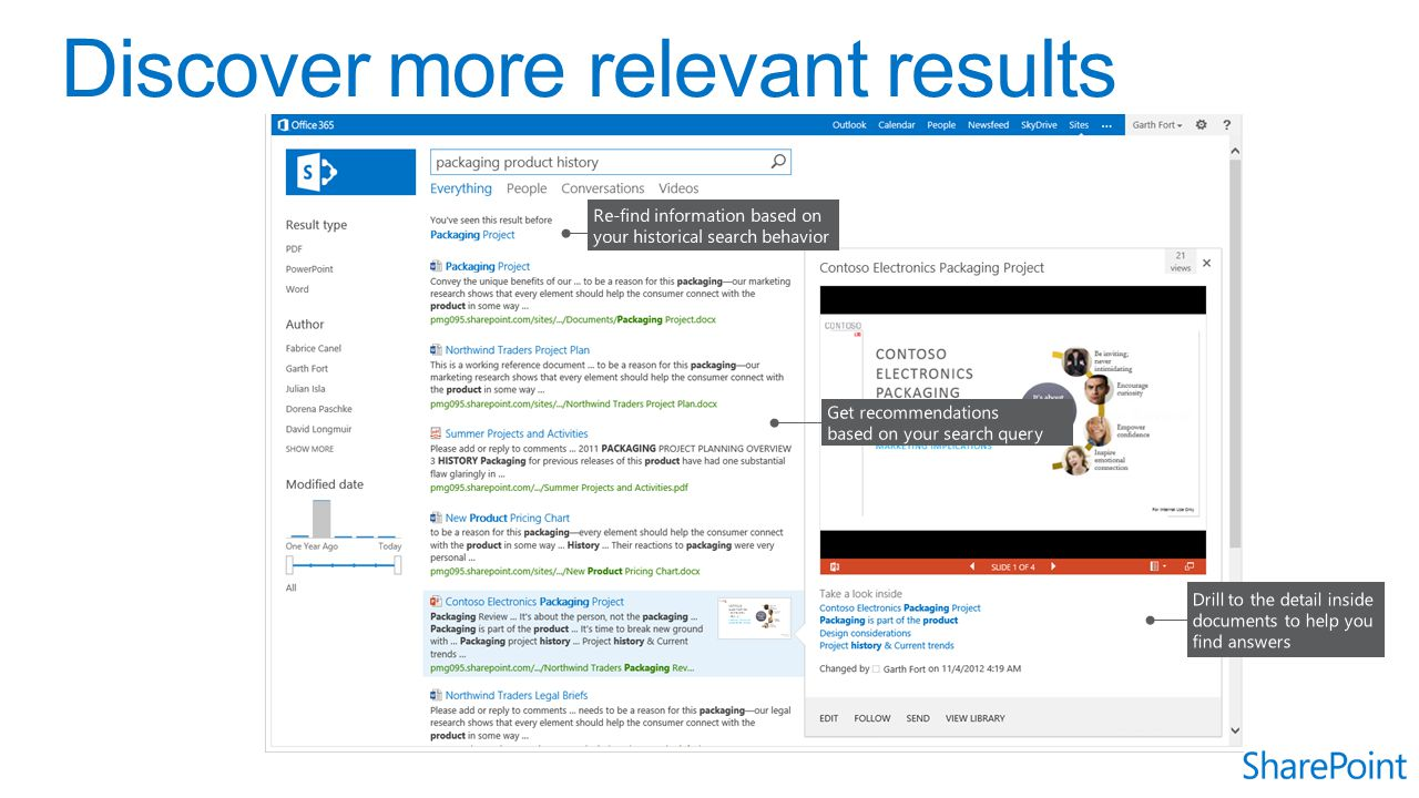 Discover more relevant results
