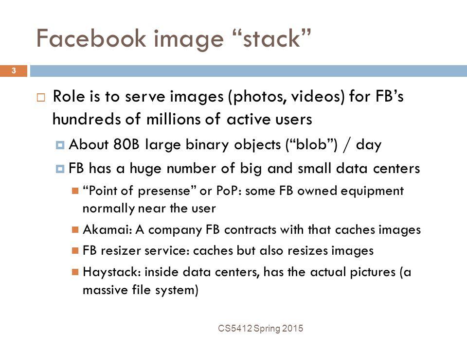 Facebook image stack