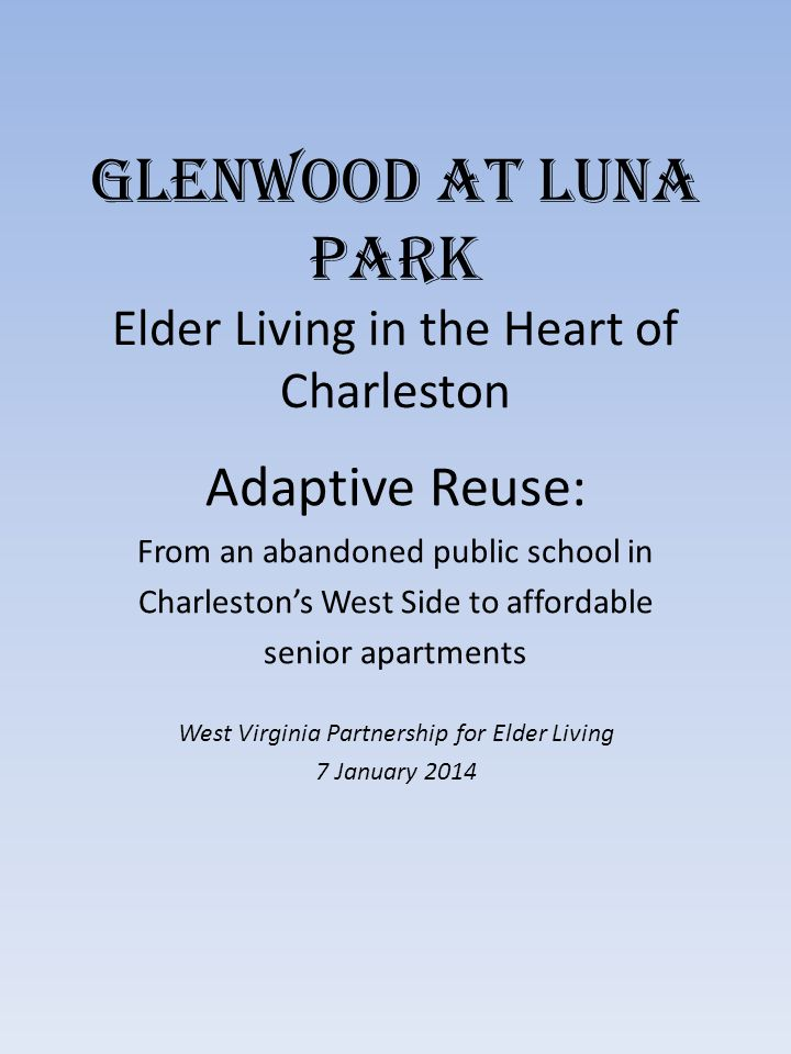 Glenwood at Luna Park Elder Living in the Heart of Charleston