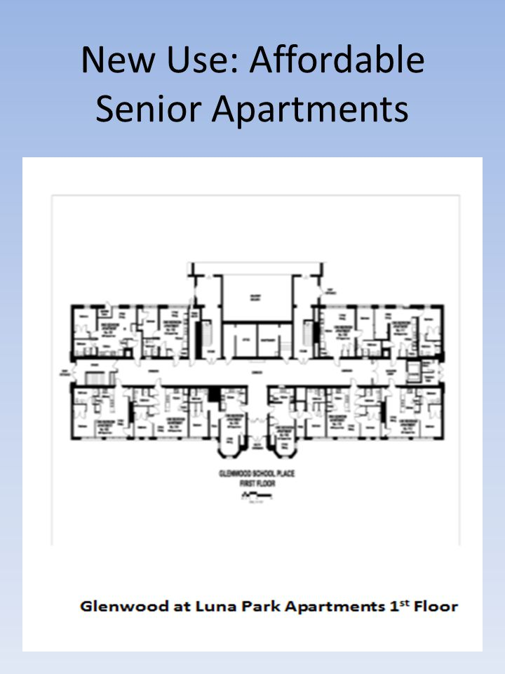 New Use: Affordable Senior Apartments