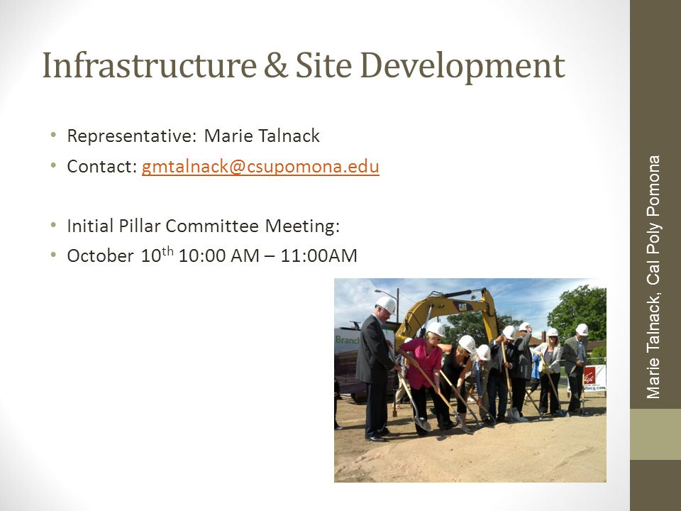 Infrastructure & Site Development