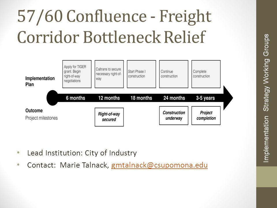 57/60 Confluence - Freight Corridor Bottleneck Relief