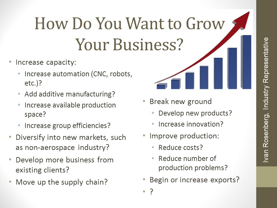 How Do You Want to Grow Your Business