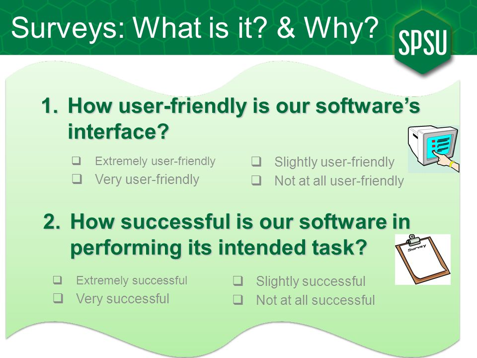 How user-friendly is our software's interface