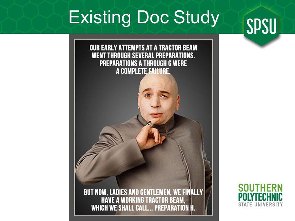 Existing Doc Study
