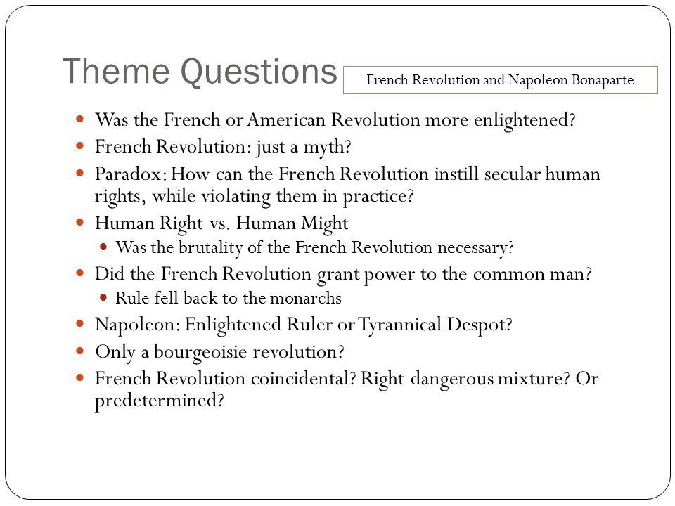 French Revolution and Napoleon Bonaparte