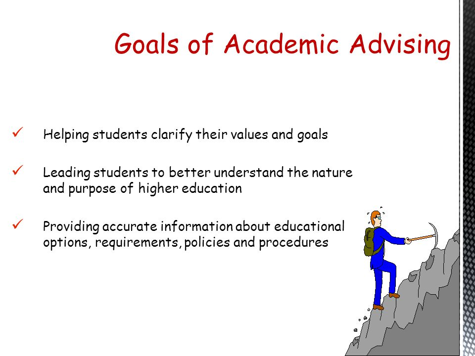 Goals of Academic Advising