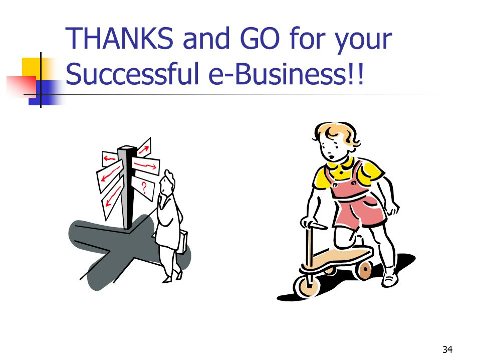 THANKS and GO for your Successful e-Business!!