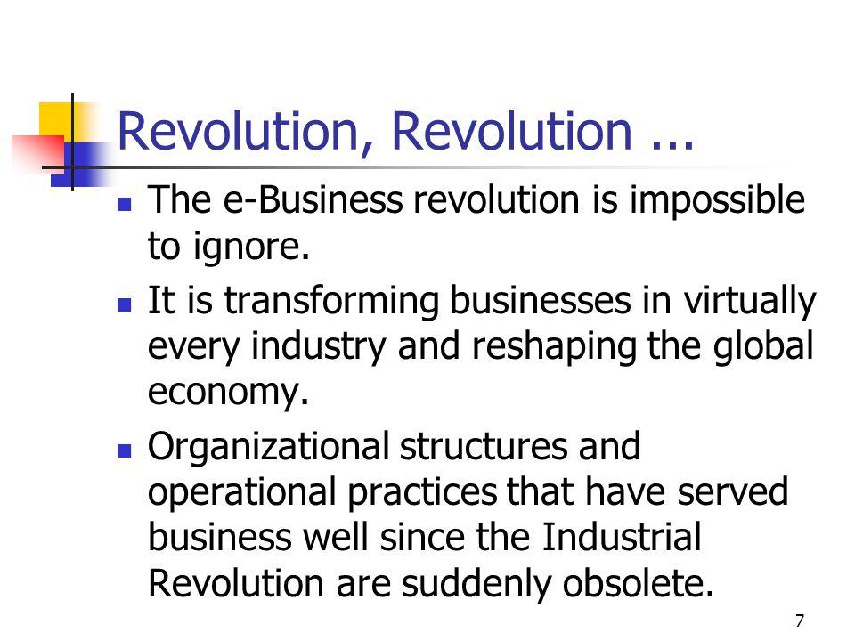 Revolution, Revolution ...