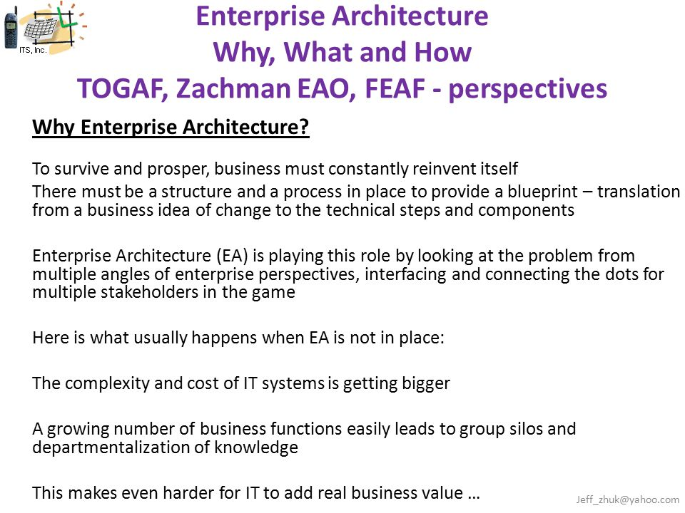 Why enterprise architecture ppt video online download 1 enterprise architecture malvernweather Choice Image