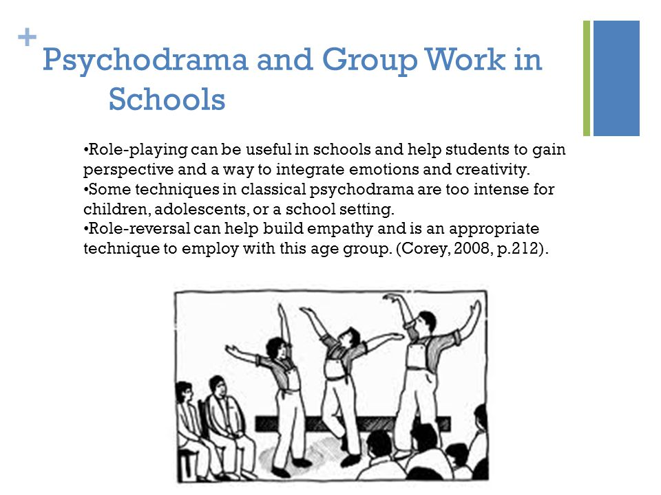 Psychodrama and Group Work in Schools