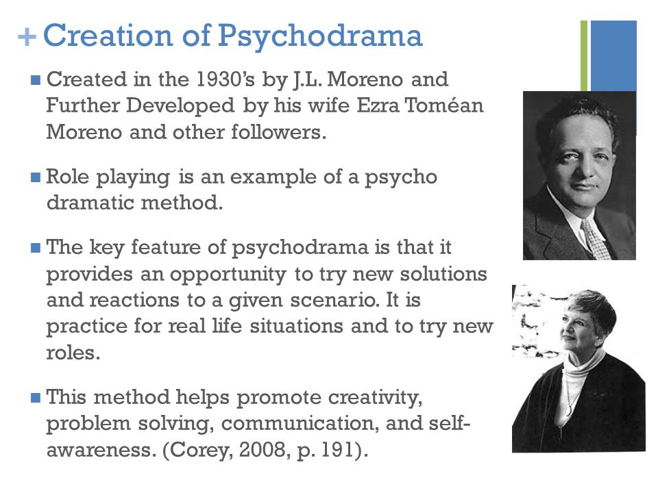 Creation of Psychodrama