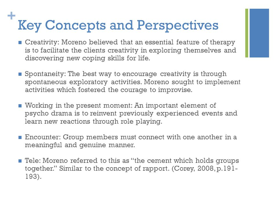Key Concepts and Perspectives