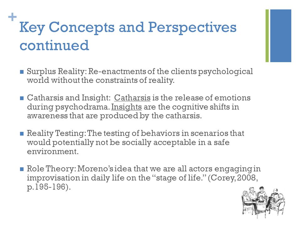 Key Concepts and Perspectives continued