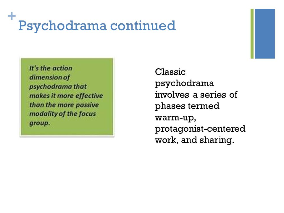 Psychodrama continued