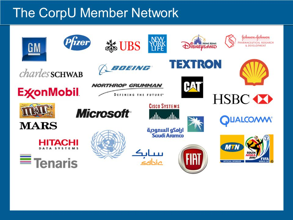 The CorpU Member Network