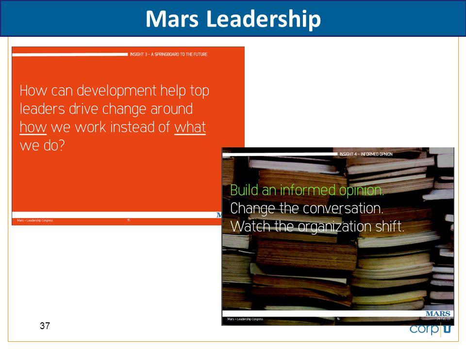 Mars Leadership